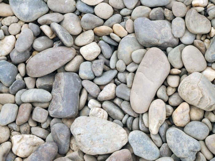 Grey pebbles at the Tisza Hungary Riverside Backgrounds Day Large Group Of Objects Nature No People Outdoors Pebble Pebble Beach Rock - Object Stone - Object Stone Material Various