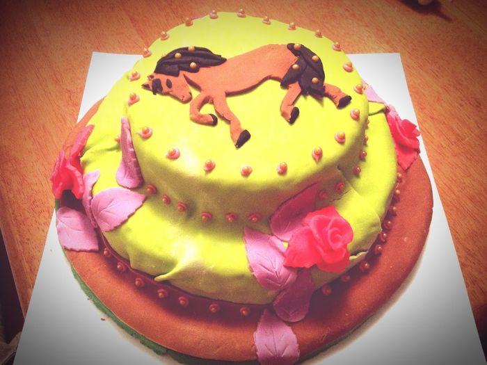 Learning Practice Horsecake Fantasycake :)