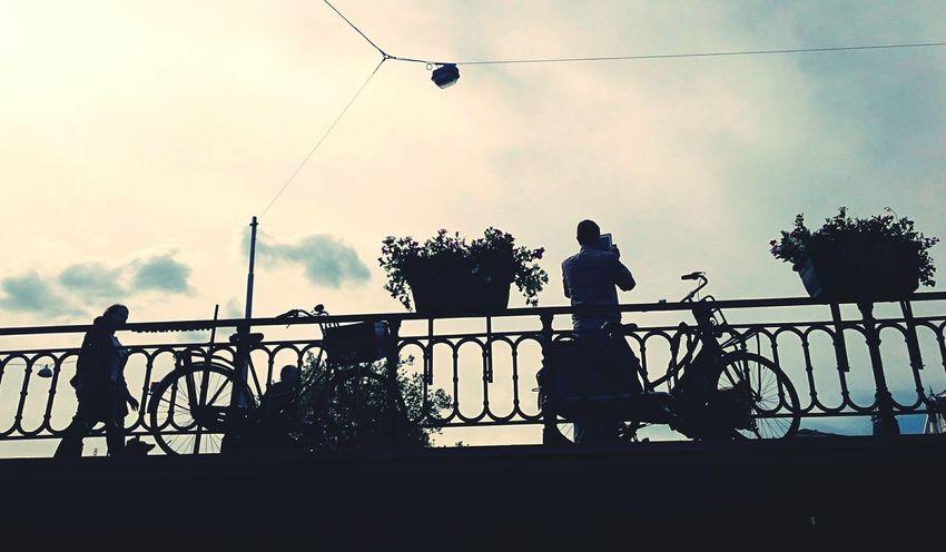 Life is like riding a bike. Keep moving to keep the balance! Bike Sunnyday Hanging Out Amsterdam Urbanphotography The Traveler - 2015 EyeEm Awards Summerinthecity Streetphotography Keepmoving