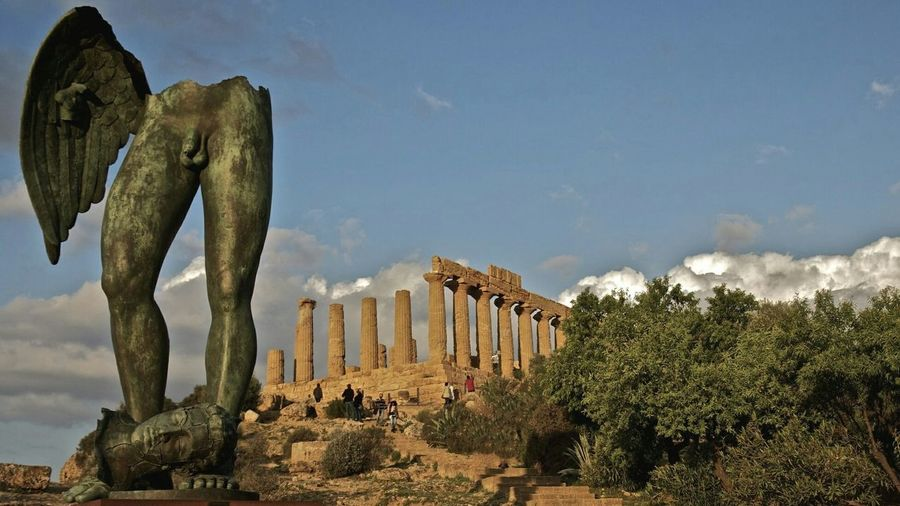 Agrigento Arte Igor Mitoray Valley Of The Temples