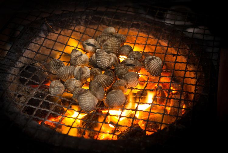 grill shellfish