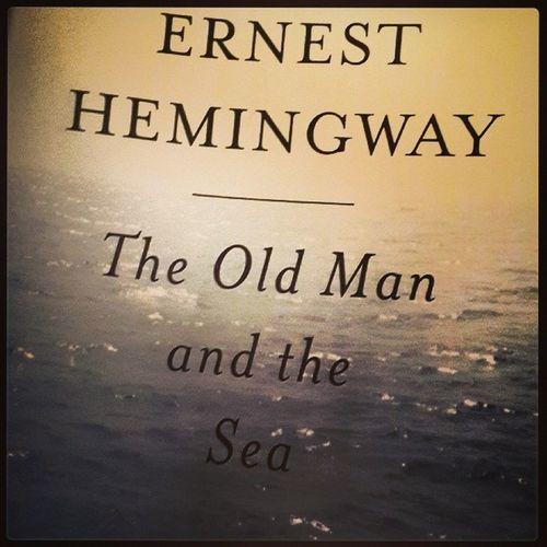 Whatimreading Quietsaturday Theoldmanandthesea Ernesthemingway