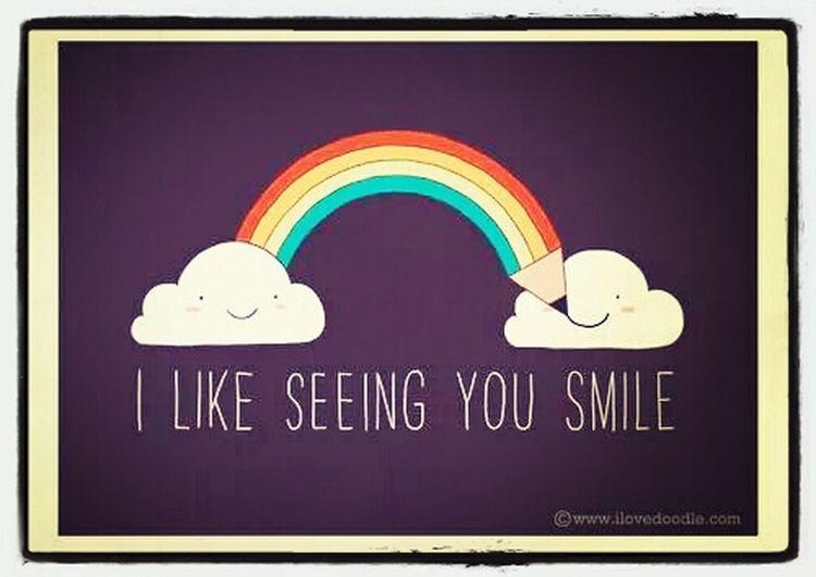 smile ♥ I Like Seeing You Smile Smile