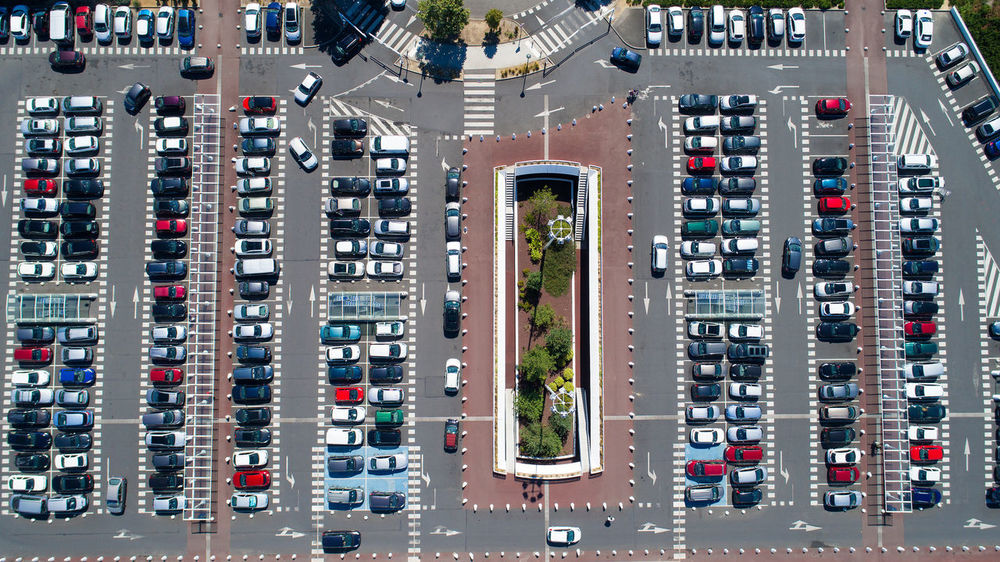 Vertical view on Atlantis shopping mall parkings in Saint Herblain, France Aerial Photography Aerial View Atlantis Cars Cityscape EyeEm Best Shots EyeEm Gallery France High Angle View Landmark Loire Atlantique Parking Parking Area Parking Lot Road Saint Herblain Saint-herblain Shopping Mall Signs Urban