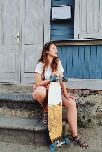 Longboarding in Summer Evening Urban Urban Geometry Urbanphotography Skate Skateboarding Skateboard Longboard Longboarding Wall Concrete Sport Cracked Colors Colorful Brick Brick Wall EyeEm Selects Young Women Full Length Sitting Beautiful Woman Portrait Building Exterior Joint - Body Part Human Knee Gijón Physical Therapy Longboard Skating Barcelona Province Adhesive Bandage Anatomy Asturias Thigh Human Bone Cramp Knee Human Joint Hot Pants Door Closed Door Bikini Top Closed Bikini Thoughtful