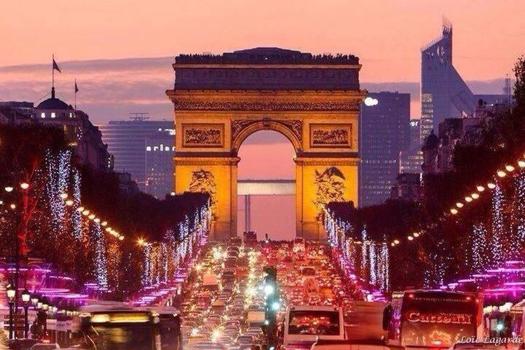 Paris Kobechristmas Bistrotcafedeparis Champs-Élysées