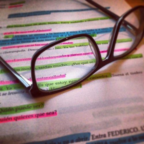 Así estudio yo... Teatro Guión