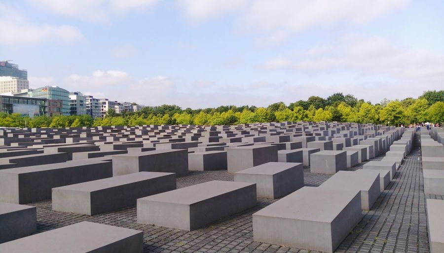 Berlin Holocaust Holocaust Berlin In A Row Politics And Government Military Outdoors Grave No People Cemetery Memorial History Day Sky