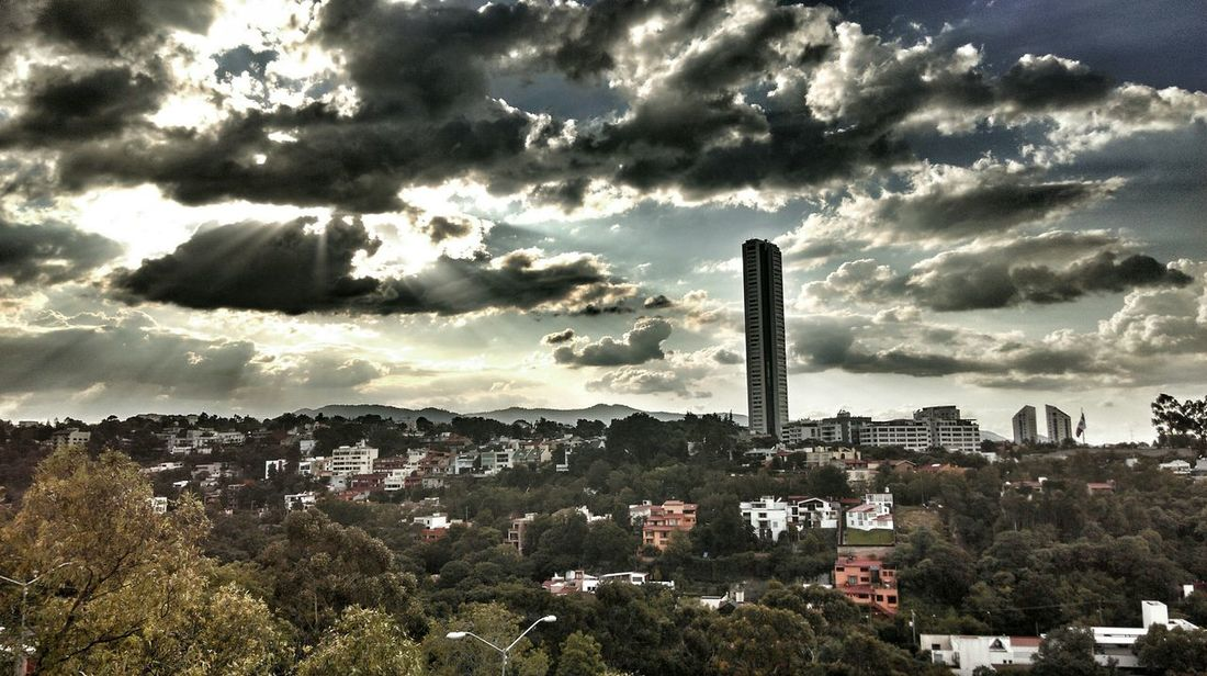 Darkness And Light Sun&Clouds Hdr_Collection Mexico City Santafe Hola! Stand Out From The Crowd Embraceurbanlife? Uniqueness