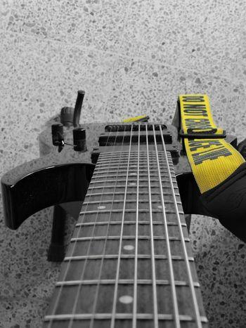 CMND/CTRL Taking Photos Ibanez 8string Guitar