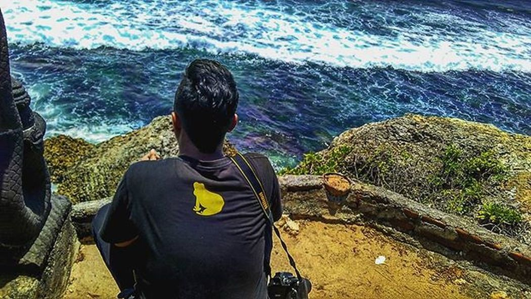 Wonderfull place,, . . . . . Pantai Gunungkidul Jogja Jalanjalanmen Kodokkuning Frogstone Nikon D5200