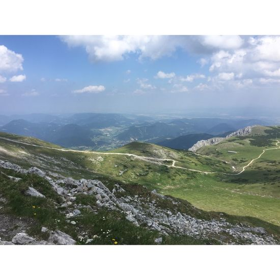Hiking Schneeberg, Austria Beauty In Nature Day Grass Landscape Mountain Nature No People Outdoors Scenics Schneeberg Sky Snow Snowcapped Mountain Tranquil Scene Tranquility