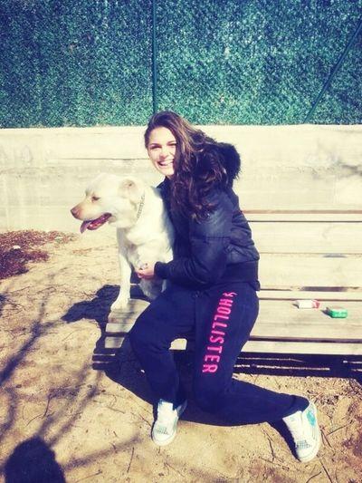 Having Fun With My Dog