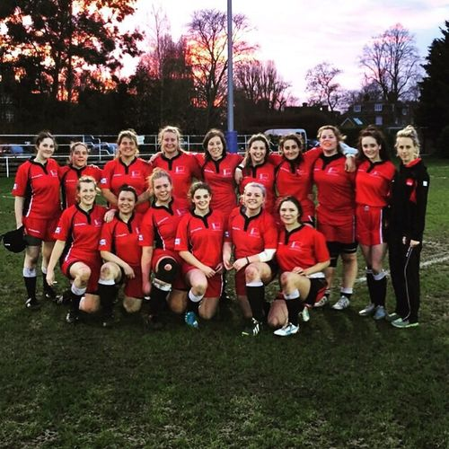 One hell of a team. Love them to the moon and back! Womensrugby