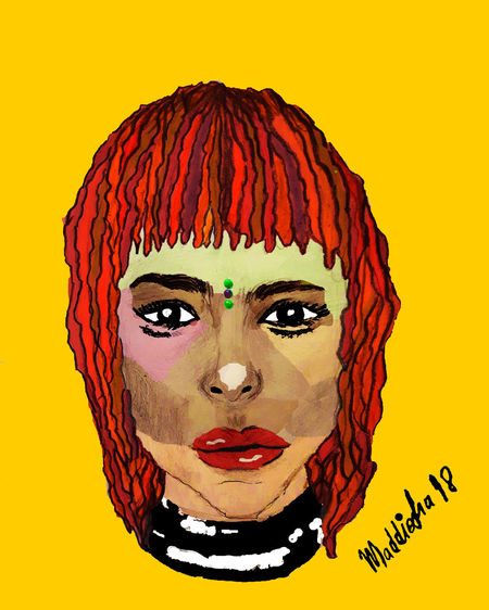 Ilustration by me Eyeemawards2018 Ilustration Ilustrator Ilustrationart Art Young Women Portrait Human Face Beautiful Woman Beautiful People Studio Shot Headshot Futuristic Multi Colored Close-up