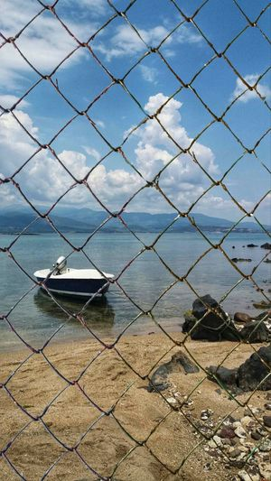 EyeEm Man Water Sea Protection Safety Metal Security Nautical Vessel Sky Boat Fence Water Vehicle Office Building A New Beginning