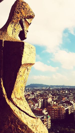 Cityscape No People Architecture Outdoors City Day Sky SagradadeFamilia Barcelona Cityviewfromthetop