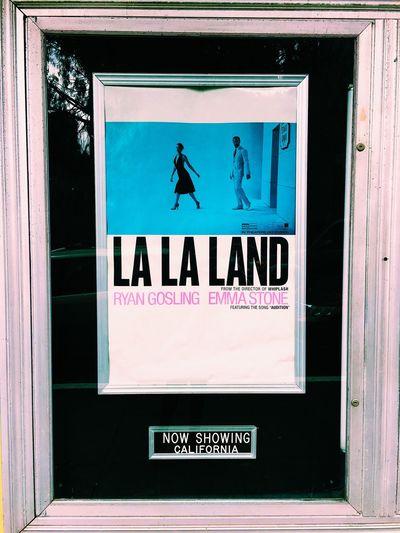 the one and only! La La Land California Castro Cinema Vintage Ryan Gosling Emma Stone