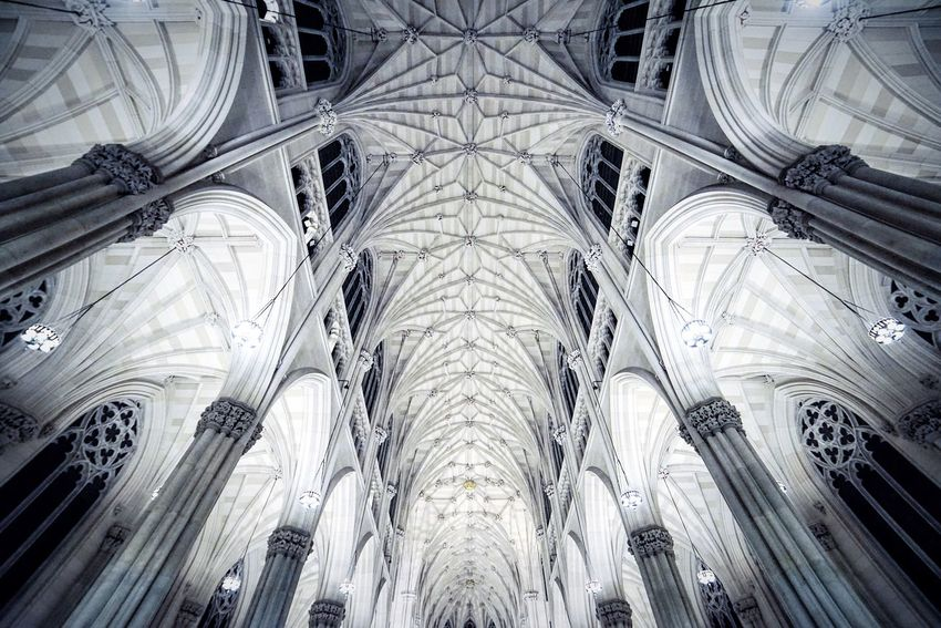 Church Architecture Roof Religion Ceiling Structure Gothic