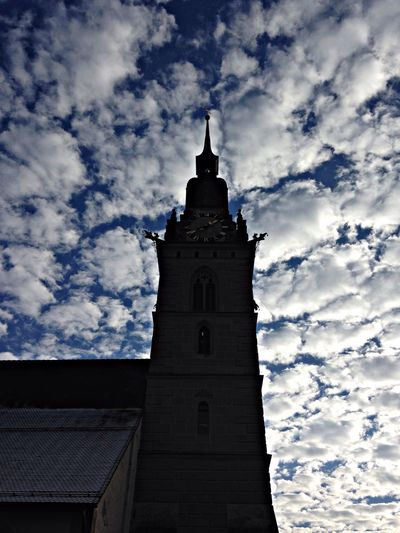 Tower SkyClouds Zofingen wonderful place
