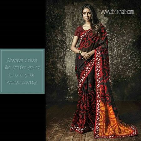 Check out our New Saree Collection Launched Today at www.desiroyale.com Enjoy Freeshipping and 20% off for a Limited Time LINK: http://www.desiroyale.com/collections/saree/products/black-and-red-manipuri-saree Desi Desiroyale Punjabi Gypsy Instagood Instacool Jago Sardarni Jatti Bride Indianbride Sangeet Wedding Webstragram MustHave Trend Buy shopping picoftheday photooftheday saree