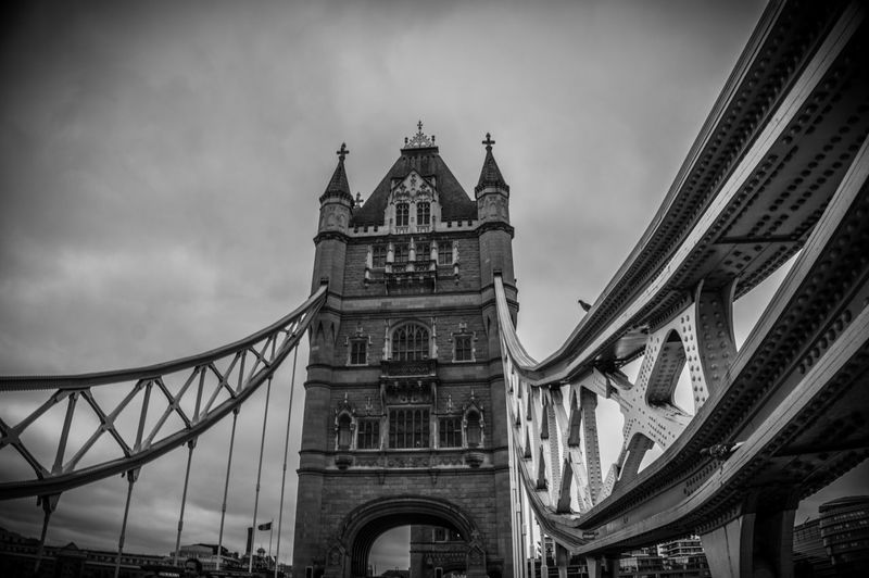 London London Bridge Tower Bridge  Architecture Bridge - Man Made Structure Building Exterior Built Structure City Cloud - Sky Connection Day Low Angle View No People Outdoors Sky Travel Destinations EyeEm LOST IN London The Traveler - 2018 EyeEm Awards British Culture
