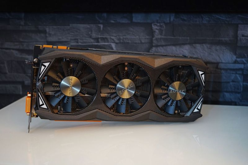 Zotac amp Extreme Gtx 980ti Art Gpu Nvidia Zotac EyeEm Selects Still Life Indoors  No People Arts Culture And Entertainment Table Art And Craft Close-up Design Single Object Day Personal Accessory
