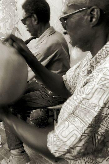 Black And White Blackandwhite Photography 3XSPUnity Guadeloupe Family Moments #le Petit Jardin FWI Music Gwo Ka GwaSound Arts Culture And Entertainment Gwoka Legendery TAKOUTA Men