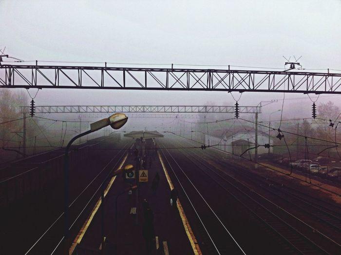 Melancholic Landscapes Foggy Morning Autumn Nature