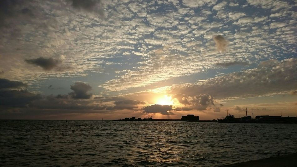 Sunset The Purist (no Edit, No Filter) Enjoying The Sun Eye4photography  Relaxing Cloud_collection  Clouds And Sky Skyporn Sea And Sky Sea View Seascape Water Reflections Water_collection Water Port Harbour Harbour View Sunset_collection Landscape_Collection January2016 Mediterranean  Beauty
