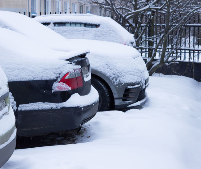 Land Rover Velar Vouge Winter Car Day No People Range Range Rover Snow