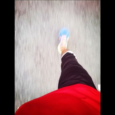 laju dia jgn ckp laa. done for today 2km.