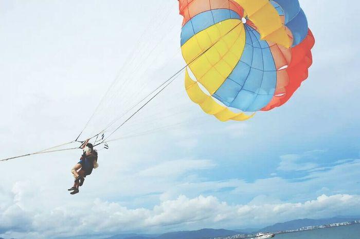 Sea And Sky China Fire Balloon Happy