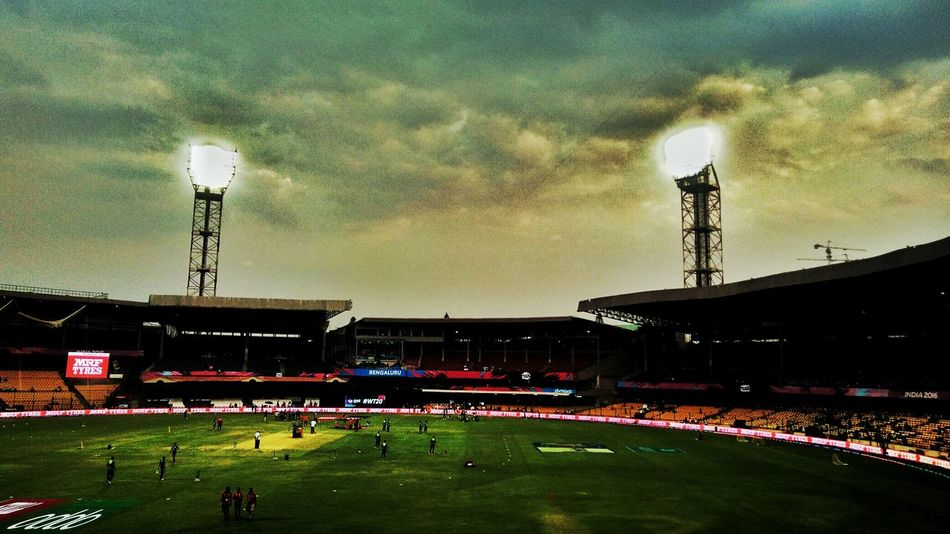 Stadium Lights Cloudporn Bangaloredays Clouds And Sky Chinnaswamystadium Bangalore Floodlights Sports Sports Photography CricketWorldCup WorldT20 Cricket Iccworldt20 Photography In Motion
