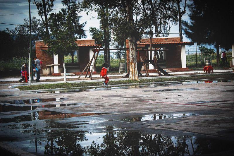 Rainy day 🌧 Rainy Days Child Water Tree