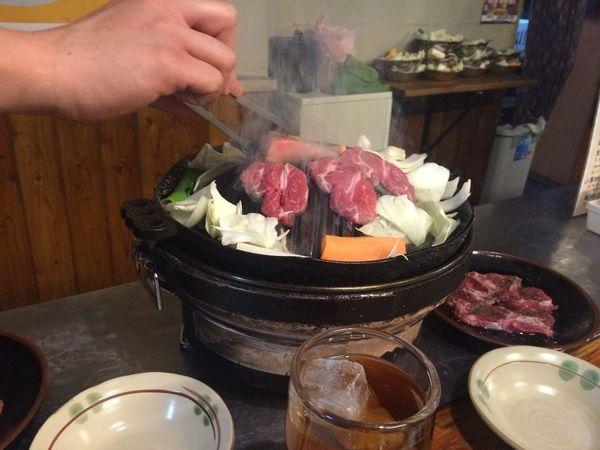 Human Hand Food Hokkaido ラム Japan Japan Photography Meat Asahikawa 旭川