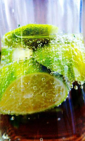 Drink Lime Lemonade Macro Freshness Fresh Green