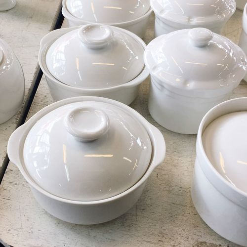 White Color Still Life High Angle View Porcelain  Indoors  No People Bowl Plate Close-up Day Bowl Of Soup Cups Cup Bowls Appliance Bowl Of Rice White