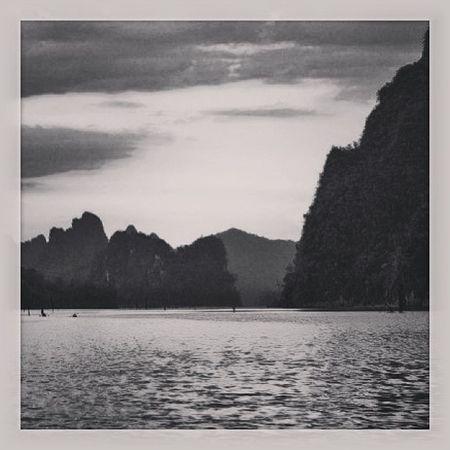 Long time ago Thailand Lake Suratthani Dam khaosok