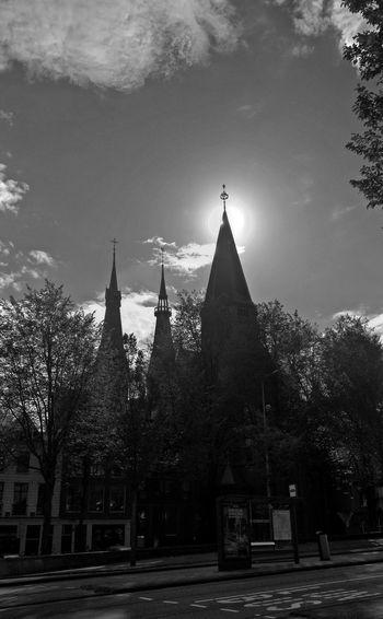 Monochrome Blackandwhite Architecture Neogothic Chrurch