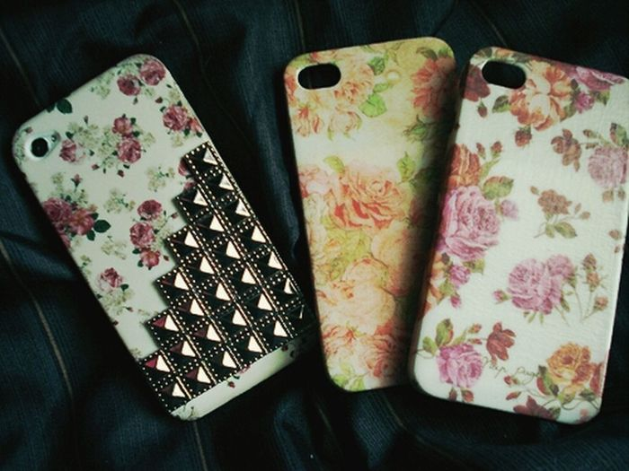coque#iphone#flowers#swag#pink