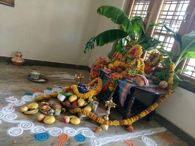 Goddesses Green Fruits Coconut Pooja Rangoli Sony Xperia M5 The Street Photographer - 2016 EyeEm Awards Green Color Window Fine Art Photography Colour Of Life