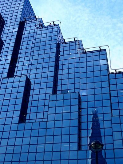 Amazing Design Blue Glass Cubedesign EyeEm Getty Collection