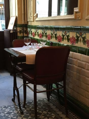 Paris Bistro Table For Two Lunch Dinner Romantic France