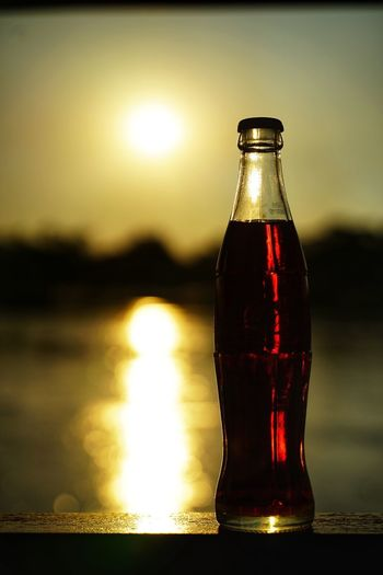 Soda Water Soda Cocacola No People No Person Day Water Drink Alcohol Splashing Droplet Drinking Glass Cold Temperature Full Bottle Cold Drink Reflection Water Bottle  Cola