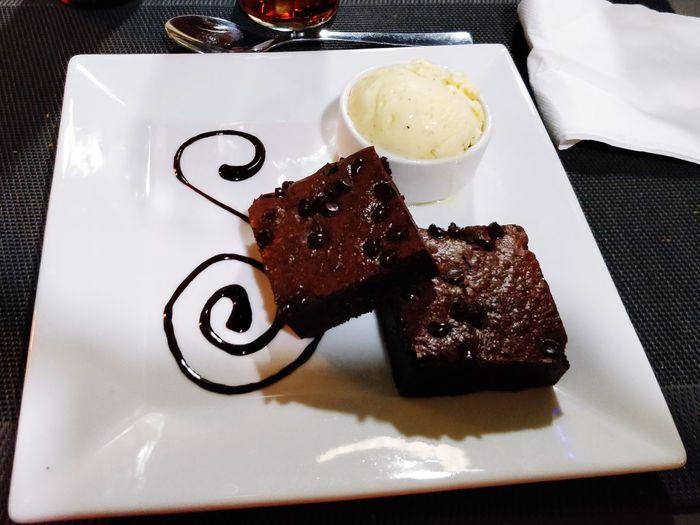 Brownie at a