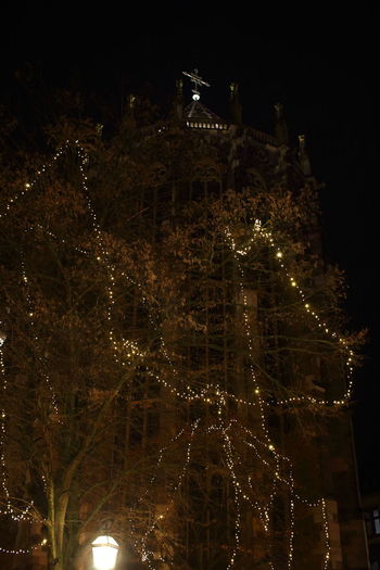 Aachen Aachener Dom Aachener Weihnachtsmarkt Architecture Christmas Market ♡ City Cityscape EyeEm Gallery Illuminated Low Angle View Night No People