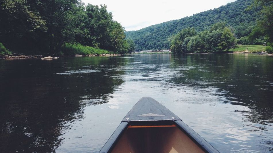 Yough River Canoeing Landscape