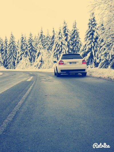 Everyday Joy Audi S3 Quattro Liebe ❤ Love My Audi ♡ Schnee *-* Love My Quattro ❤ Ich Liebe Es.♥