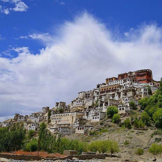 Thiksey Monastery..Leh Ladakh India Allt_2k15 Allt HimalayaScape